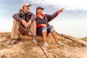 Wandern gegen die Symptome bei Arthrose