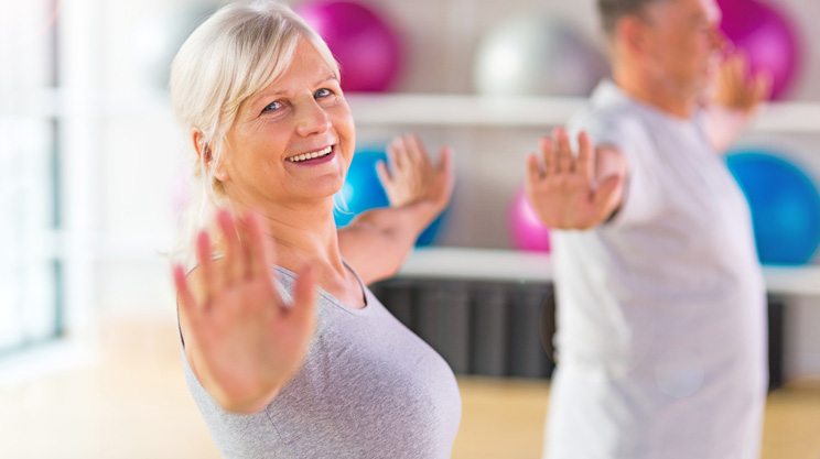 Yoga bei Arthrose